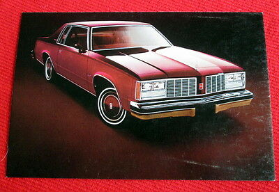 1979 Delta 88 Oldsmobile General Motors Postcard c
