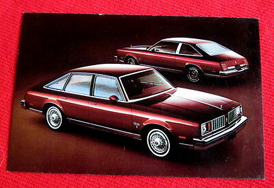1979 Cutlass Salon Brougham Oldsmobile General Motors Postcard c