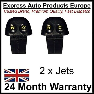 2 x Windscreen Washer Jet FORD Focus Mk2 2004 to 2008 or Fiesta Mk5 Pair