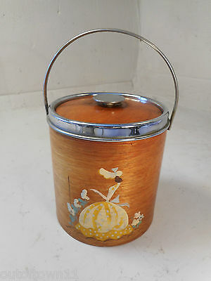 Vintage Art Deco Crinoline Lady Biscuit Barrel 1689 27/4EBn/ky