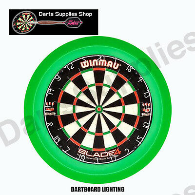 The Orbit 360 Dartboard LED Lighting Surround in Green