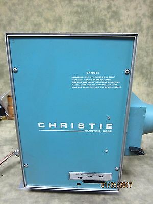 Vintage Christie Xenonlite 1000 W Xenon Lamphouse with Rectifier used condition