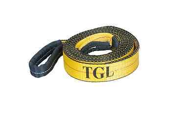 """2"""", 20' Tow Strap with Reinforced Loops 10,000 LB Capacity New Free Shipping USA"""