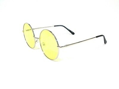New John Lennon Style Vintage Round Circle Retro Classic Sunglasses Men & Women.