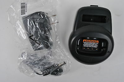 Motorola CLS Radio Charger NEW (HCTN4001A) AND Power supply