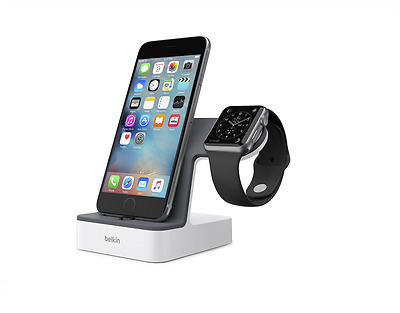 Belkin PowerHouse Charge Dock for Apple Watch and iPhone New Free Shipping USA