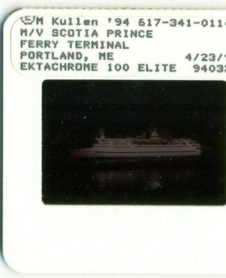 Prince of Fundy cruises ferry slide MS Scotia Prince ex Stena Olympica