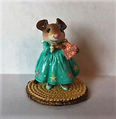 Wee Forest Folk M-499a Little Sweetheart Girl - Thank you - Event Special