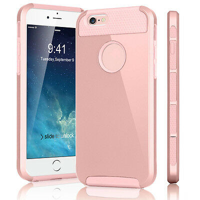Hybrid Rugged Rubber Hard Shockproof Case Cover Skin for Apple iPhone 7 6 5 NEW
