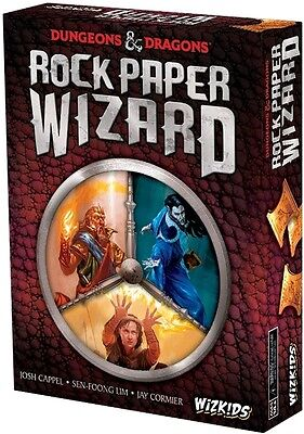 Wizkids Games--Dungeons & Dragons - Rock Paper Wizard Game