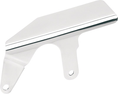 Drag Specialties Stainless Shorty Upper Belt Guard, Raw  1202-0018