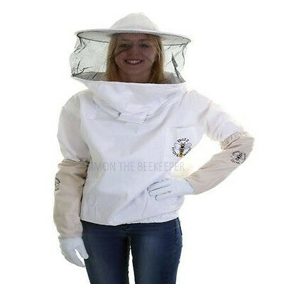 [FRANÇAIS] BUZZ Beekeepers bee Jacket / Tunic Round Veil and Gloves: ALL SIZES