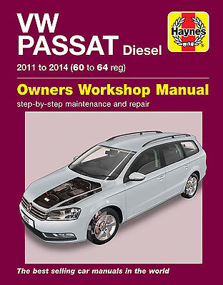 Haynes 6361 Manual Vw Volkswagen Passat Diesel 2011 - 2014 (60 To 64 Reg)