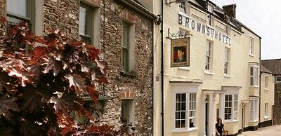 The Brown's Hotel 2 Nights for 2 People in Laugharne
