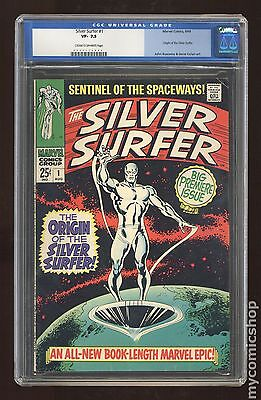 Silver Surfer (1968 1st Series) #1 CGC 7.5 (0047112002)