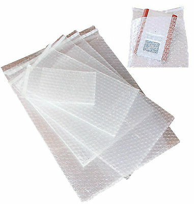 100 SACHETS BULLES TAILLE 150 x 200 mm FERMETURE ADHESIVE