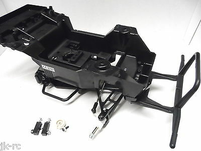New XB Tamiya Lunchbox/Midnight Pumpkin Main Chassis w/Bumper/Steering Pts Etc++