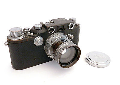 Superb Leica 111C German Military/Government c1941 with Summitar 5cm F2