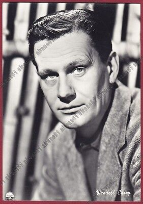 WENDELL COREY 01 ATTORE ACTOR ACTEUR CINEMA MOVIE - USA Cartolina REAL PHOTO