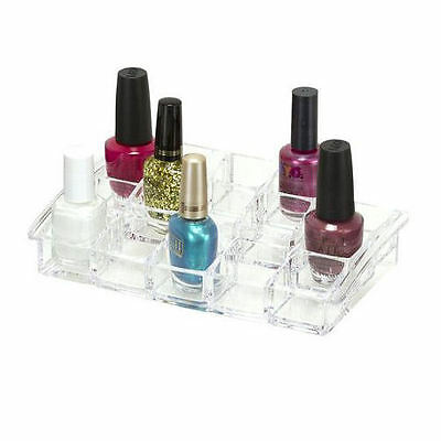Nail Varnish Organiser Box | Counter Top Polish Storage | Caboodles Nailed It Ac