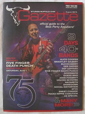 75th sturgis motorcycle rally buffalo chip  gazette Five finger death punch
