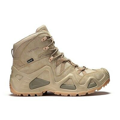Chaussures Rangers Lowa Zephyr mid Gore-Tex coyote taille 42 / gtx beige TF