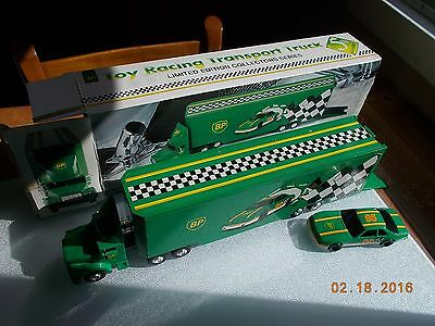 Limited Edition BP Racing Transport Truck & BP Racecar #95, in box