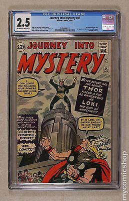 Thor (1962-1996 1st Series Journey Into Mystery) #85 CGC 2.5 (0294444010)