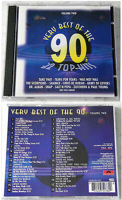 VERY BEST OF THE 90´s Volume Two - Slade,Vanessa Paradis..1995 Polydor DO-CD TOP