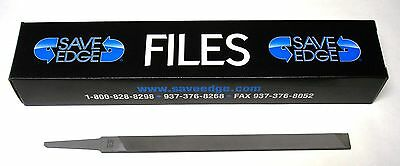 SAVE EDGE Flat Double Beveled Chisel Bit Square Chisel Chainsaw File   638-1070S