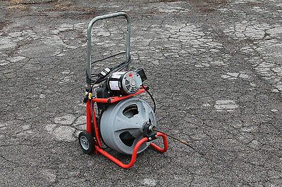 Ridgid K-400 Drum Machine Drain Cleaner - Sewer Snake