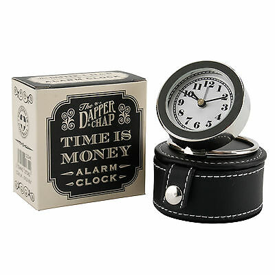 Relic retro metal travel alarm clock new and unused in box the dapper chap time is money travel alarm clock and travel case gumiabroncs Choice Image