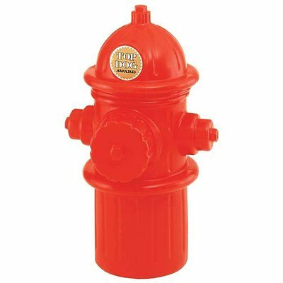 Full Size Replica Red Fire Hydrant Plug Dog Pet Food Toys Beer Storage Container