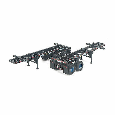 HO Trac Leasing 20' Chassis 2-Pack - Athearn #27919 vmf121