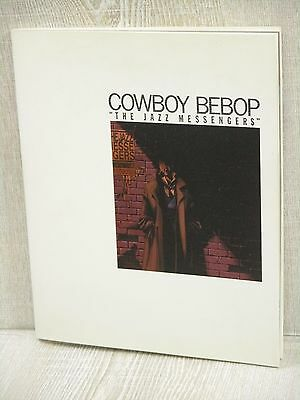 COWBOY BEBOP Jazz Messengers Art Illustration Book KD30*
