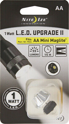 Nite Ize 1W LED Upgrade Kit II for AA Mini Maglite Torch