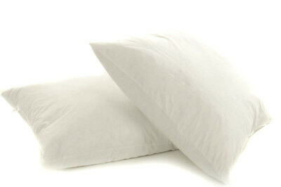 "10 Pack 21"" x 21"" White Duck feather Cushion Pad Wholesale Job Lot Inner Insert"