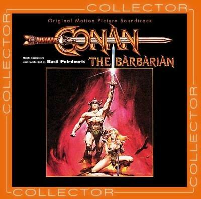 Conan The Barbarian- Collector's Edition Soundtrack - Basil Poledouris (NEW CD)