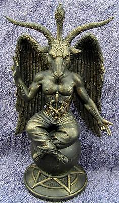 Nemesis Now GOTHIC Baphomet Antiquity Mythical Figure Wiccan Pagan Occult Goat