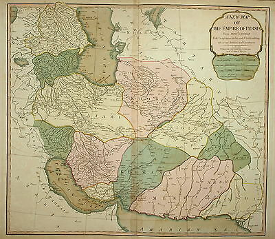 A New Map Of The Empire Of Persia. Laurie & Whittle 1810