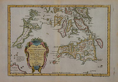 Pair Of Philippines Maps By N. Bellin. Paris 1752.