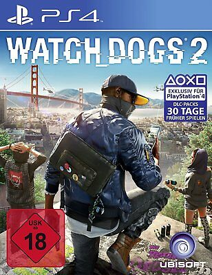 Watch Dogs 2    II      PS4           Playstation 4        !!!!! NEU+OVP !!!!!