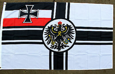 WW1 GERMANY ARMY / NAVY WAR FLAG 3 x 5 (NEW ITEM)