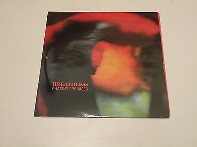 BREATHLESS - CHASING PROMISE - LP 1989 Tenor Vossa Records MADE IN UK - OIS -