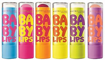 Maybelline Baby Lips DR.RESCUE,vanilla or berry bomb Lip Balm NEW Carded