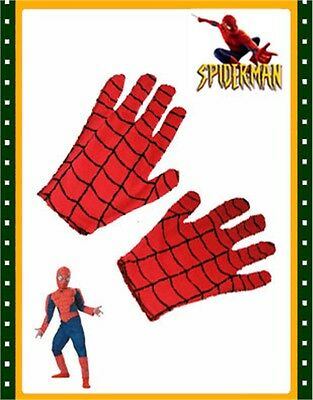 Spiderman Spider-Man Adults Costume Accessory Gloves