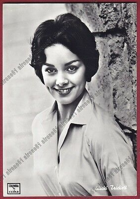 VICKI TRICKETT 01 ATTRICE ACTRESS ACTRICE CINEMA MOVIE USA Cartolina REAL PHOTO