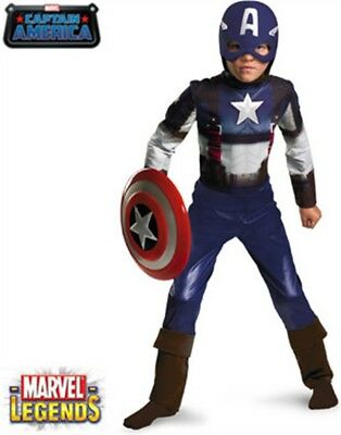 Childs The Avengers Captain America Costume Large 10-12