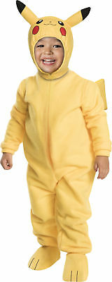 Toddler Pokemon Pikachu Romper With Headpiece Costume 2T-4T 2-4
