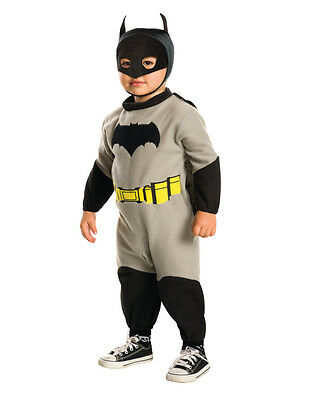 Childs Toddler Batman Dawn Of Justice Ez-On Romper With Cape Costume 2T-4T 2-4